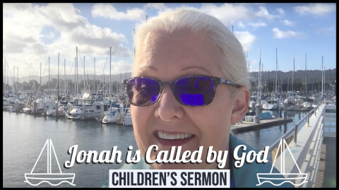 Jonah is Called by God: Children